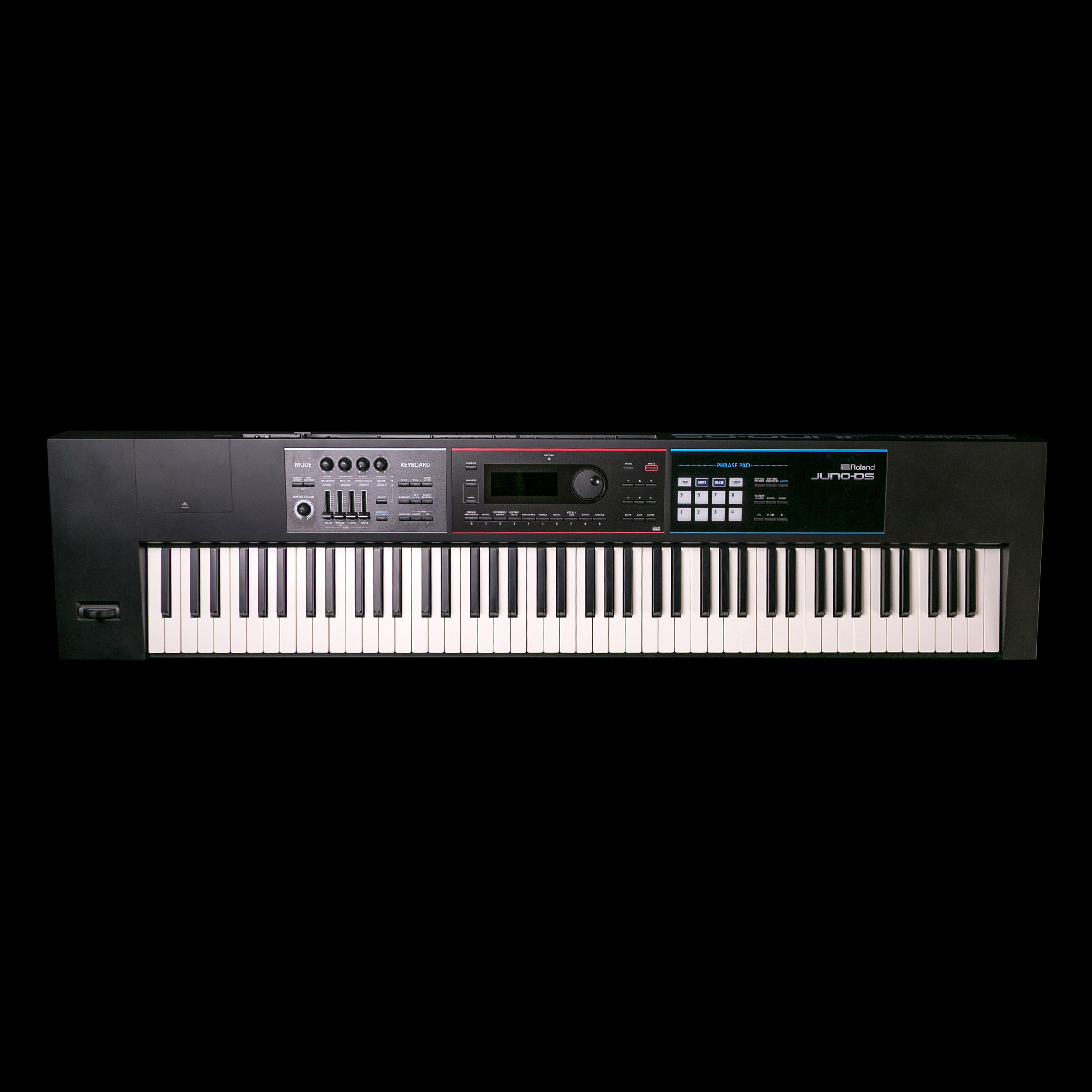 roland juno ds 88 synthesizer w 88 weighted keys ebay. Black Bedroom Furniture Sets. Home Design Ideas