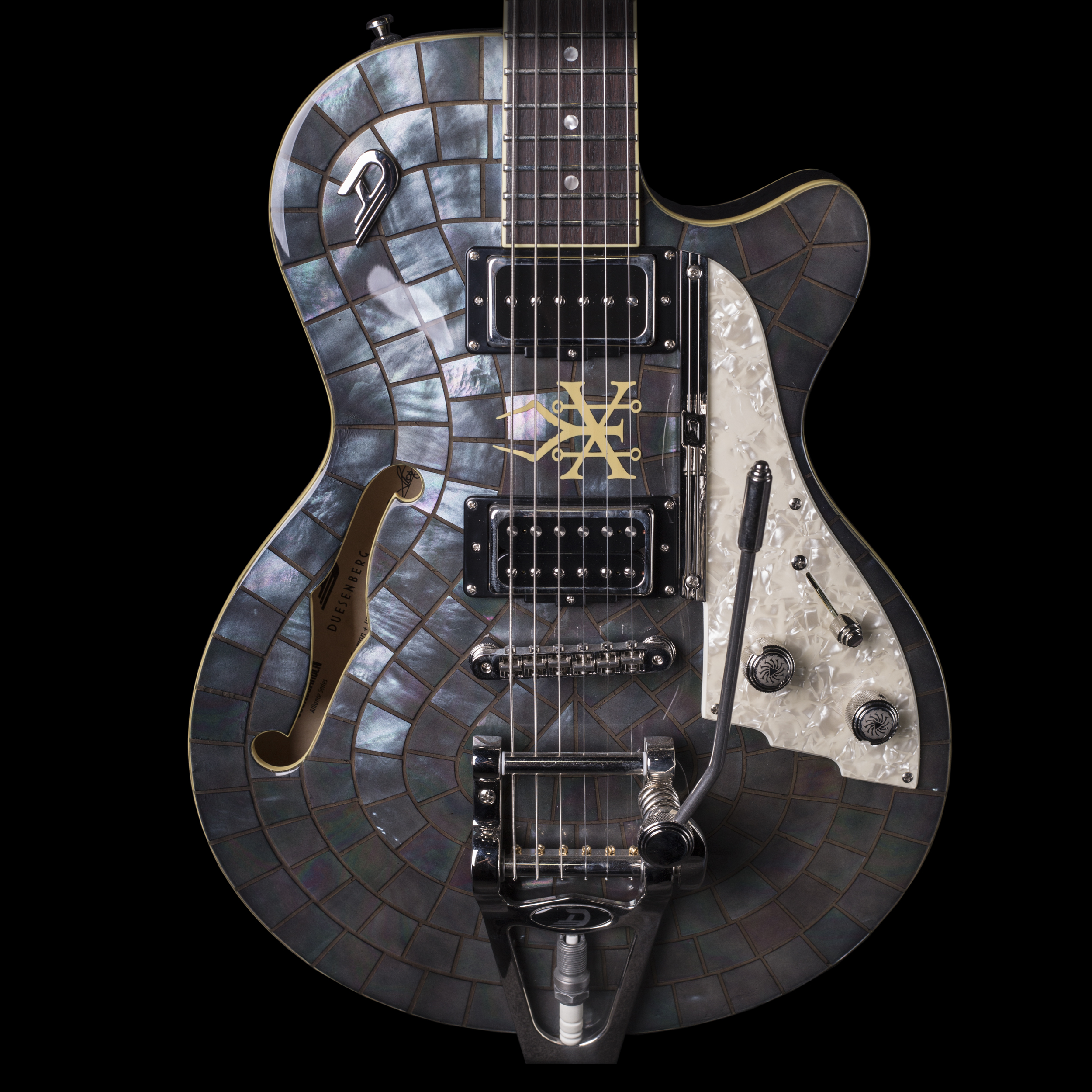 duesenberg soundgarden alliance black hole sun electric guitar w case ebay. Black Bedroom Furniture Sets. Home Design Ideas