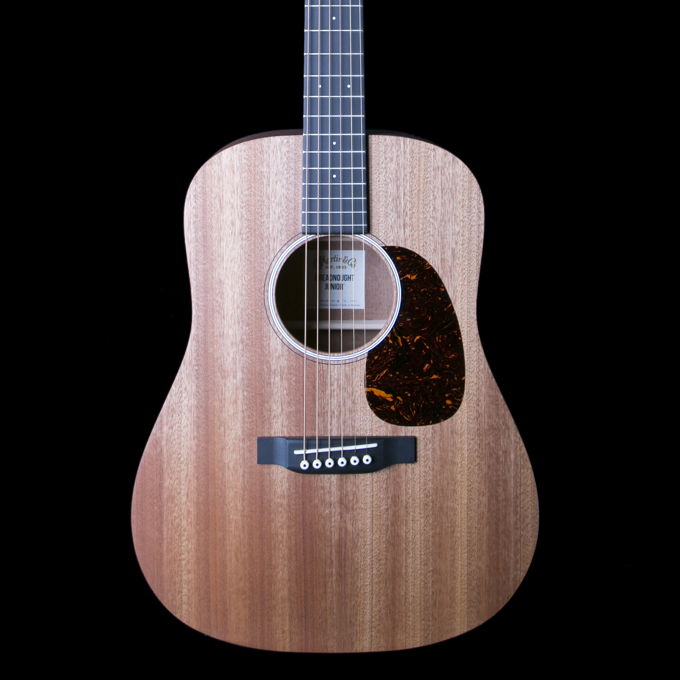 martin dreadnought junior sapele acoustic electric guitar ebay. Black Bedroom Furniture Sets. Home Design Ideas