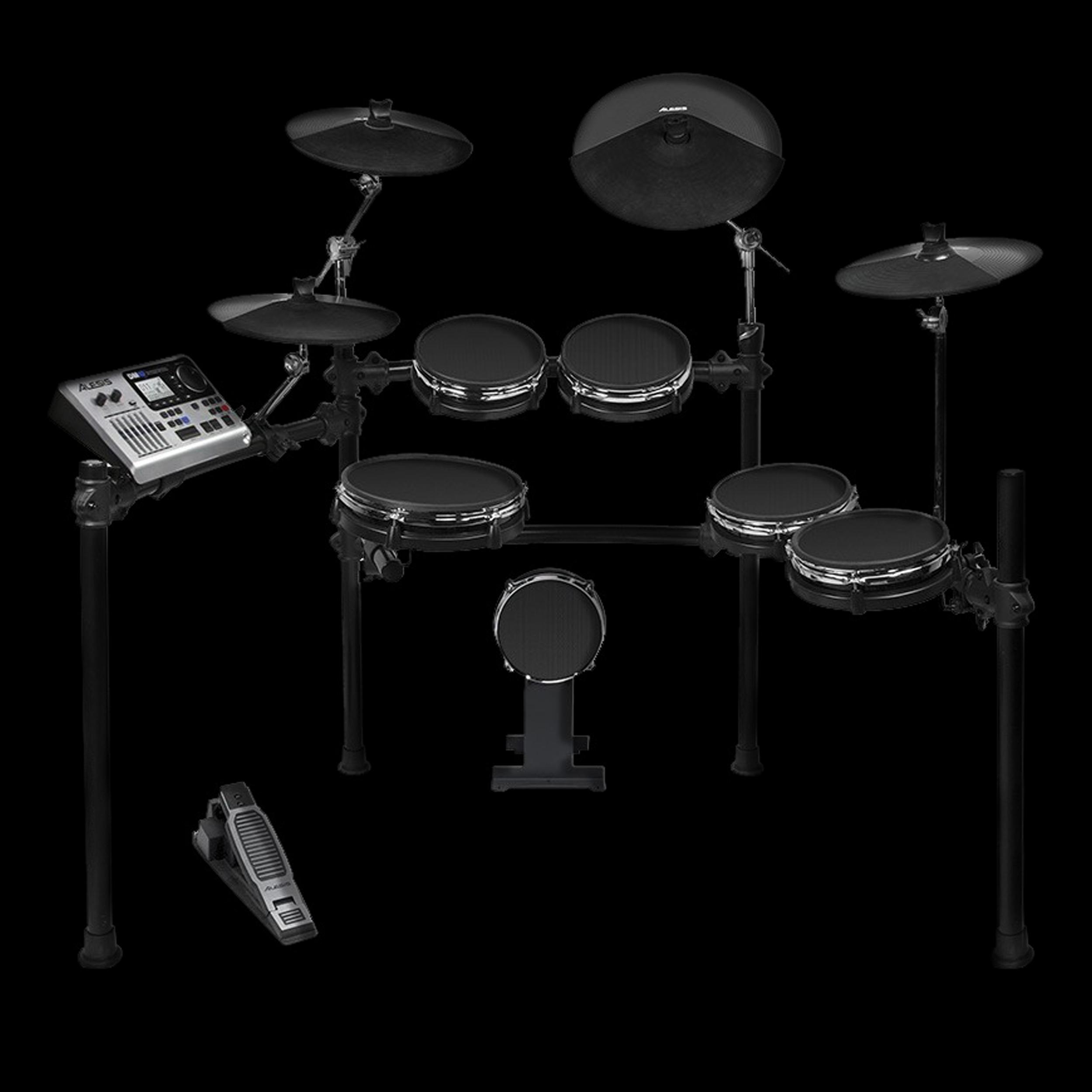 alesis dm10 electronic studio mesh kit w rack ebay. Black Bedroom Furniture Sets. Home Design Ideas