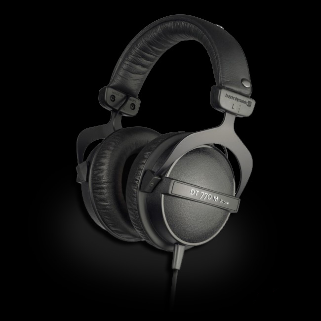 beyerdynamic dt 770 m professional studio headphones 80 ohm 411378035530 ebay. Black Bedroom Furniture Sets. Home Design Ideas