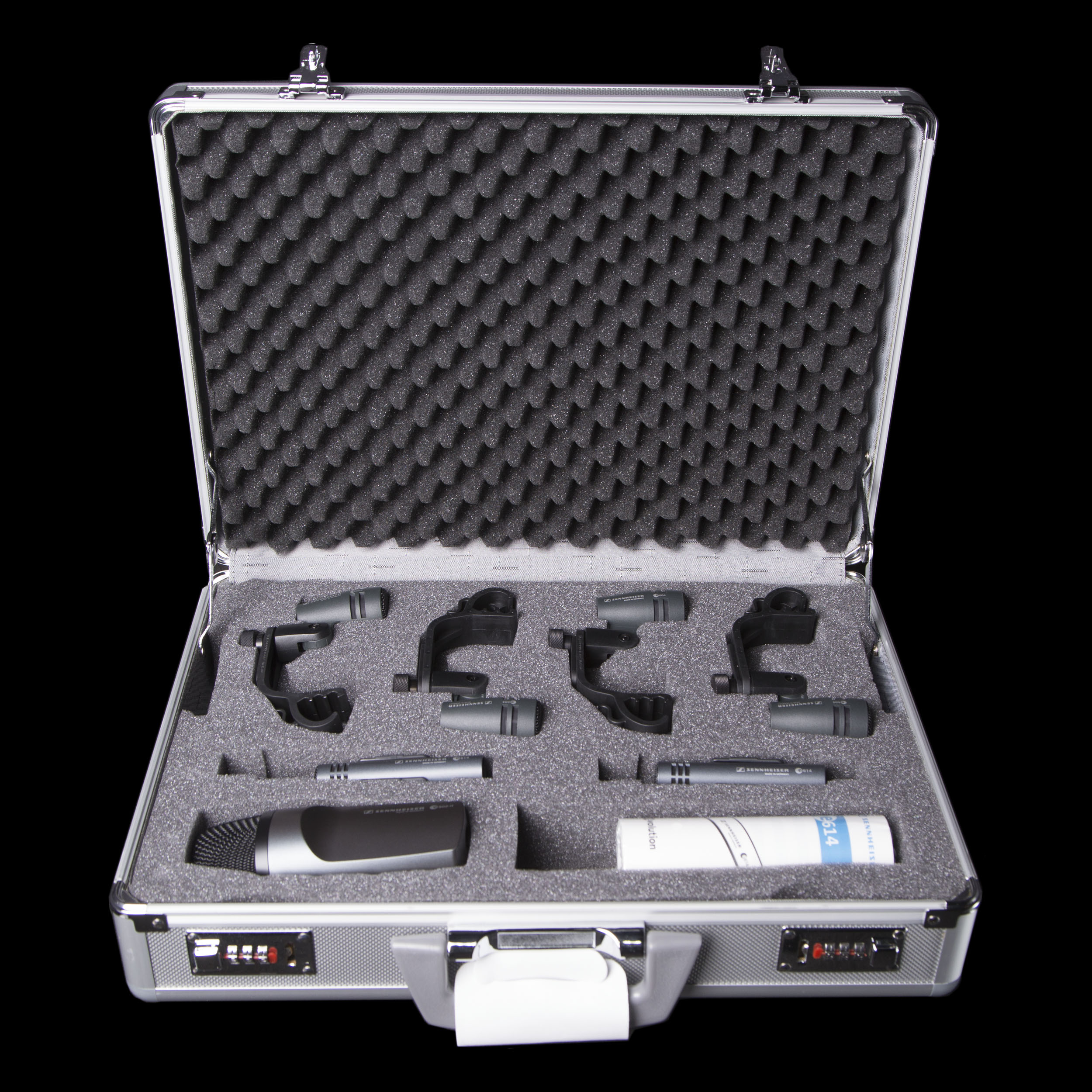 sennheiser e600 drum pack microphone set ebay. Black Bedroom Furniture Sets. Home Design Ideas