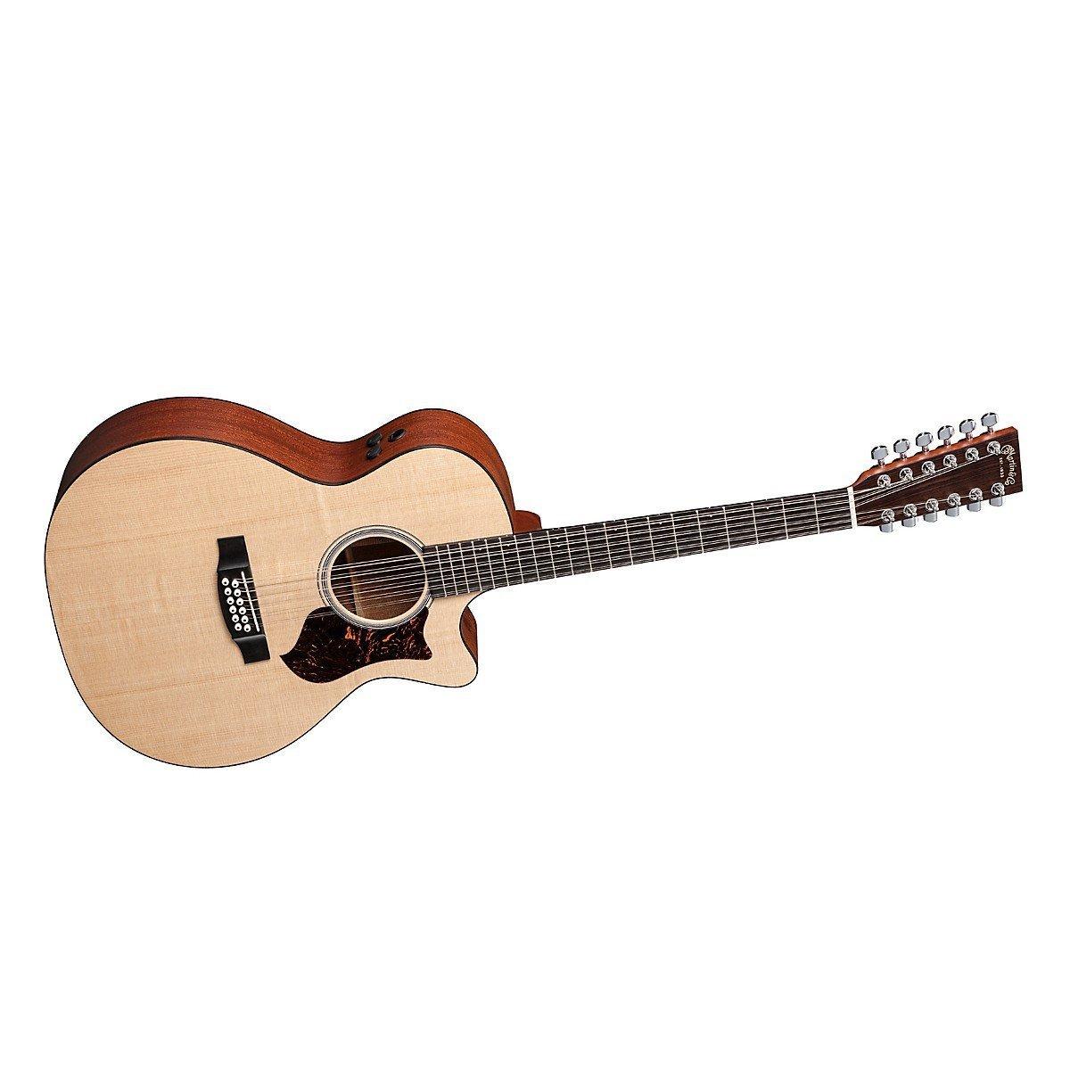martin gpc12pa4 12 string acoustic electric guitar w case ebay. Black Bedroom Furniture Sets. Home Design Ideas