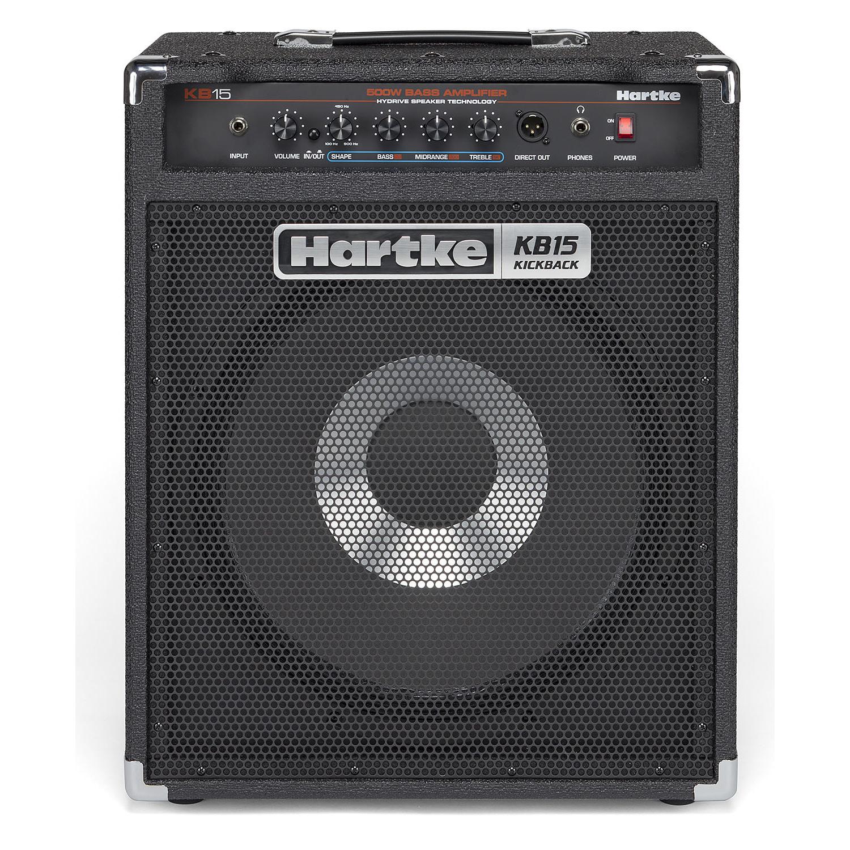 hartke kb15 kickback 500w 1x15 bass combo amp ebay. Black Bedroom Furniture Sets. Home Design Ideas