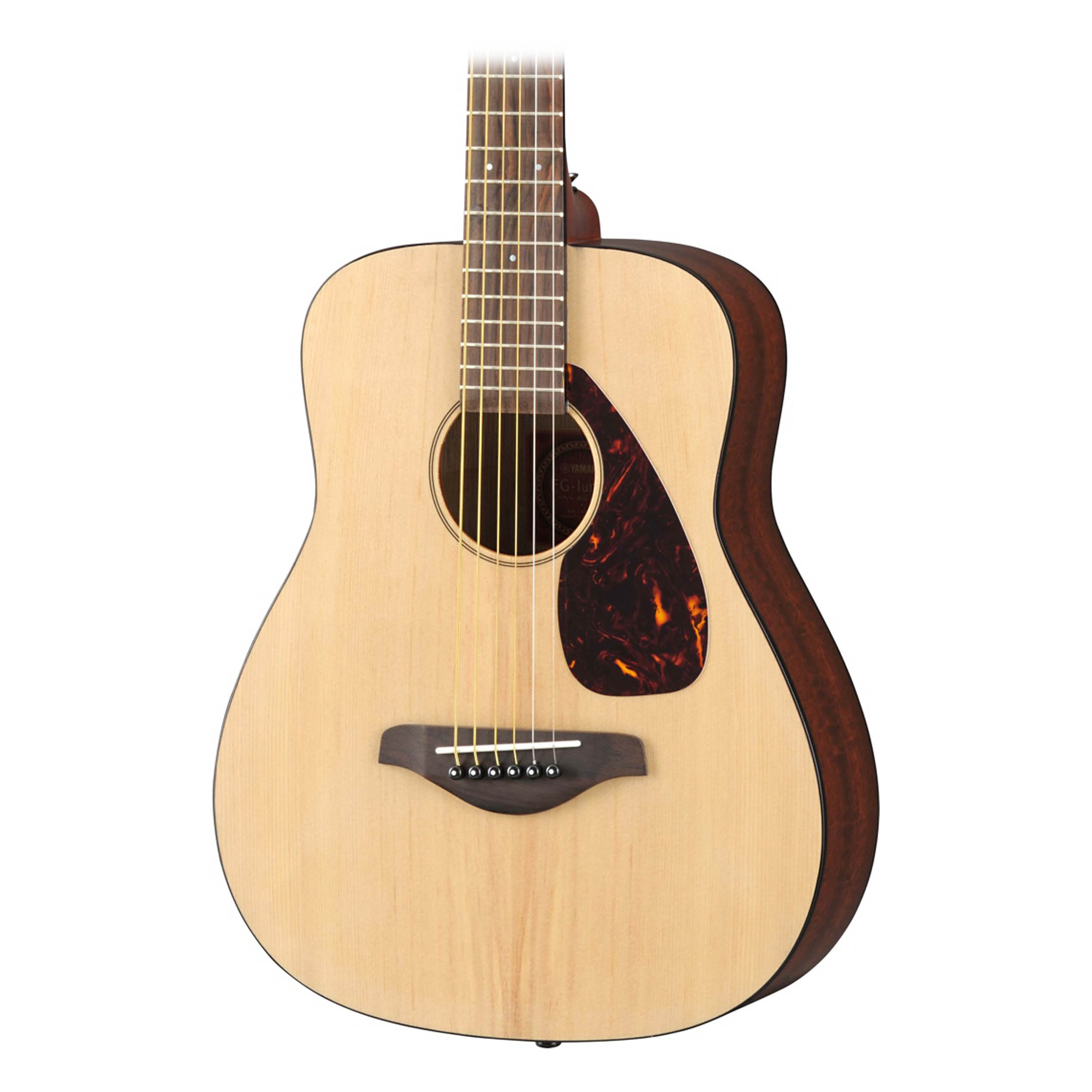 Yamaha jr2 fg 3 4 junior acoustic guitar in natural ebay for Yamaha jr2 3 4