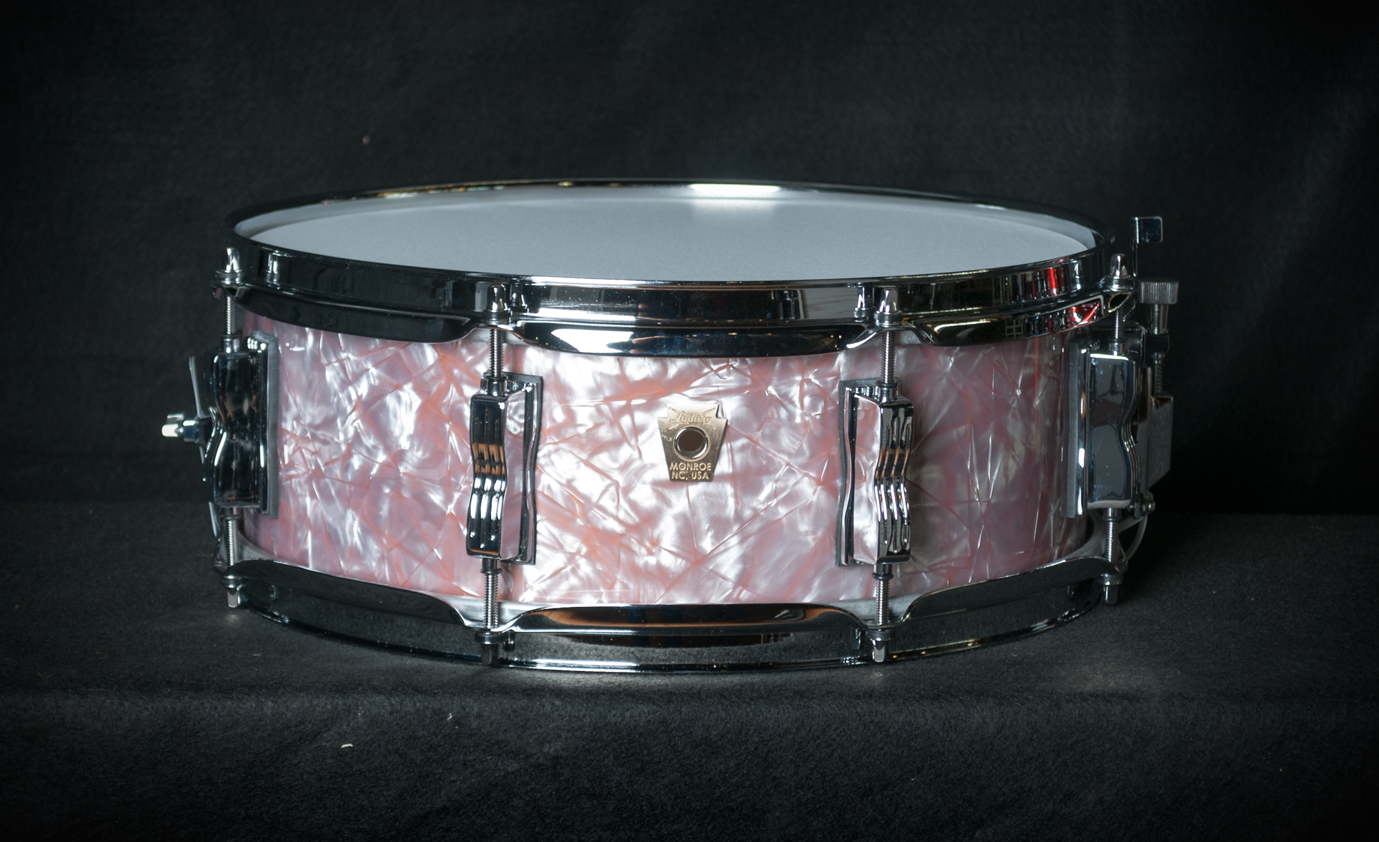 Snare Drum Wrap : ludwig limited edition classic maple 14x5 snare drum in copper pearl wrap finish ebay ~ Vivirlamusica.com Haus und Dekorationen