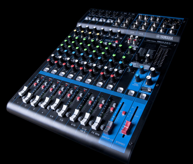 yamaha mg12xu 12 input 4 bus mixer effects 4 channels ebay. Black Bedroom Furniture Sets. Home Design Ideas