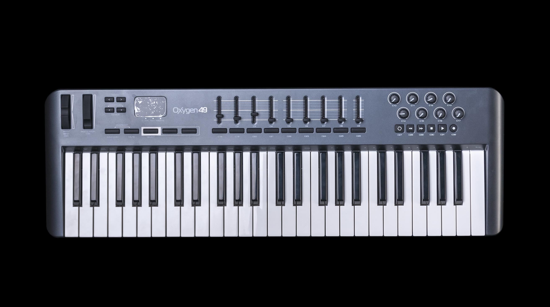 m audio oxygen 49 49 key usb midi keyboard controller ebay. Black Bedroom Furniture Sets. Home Design Ideas