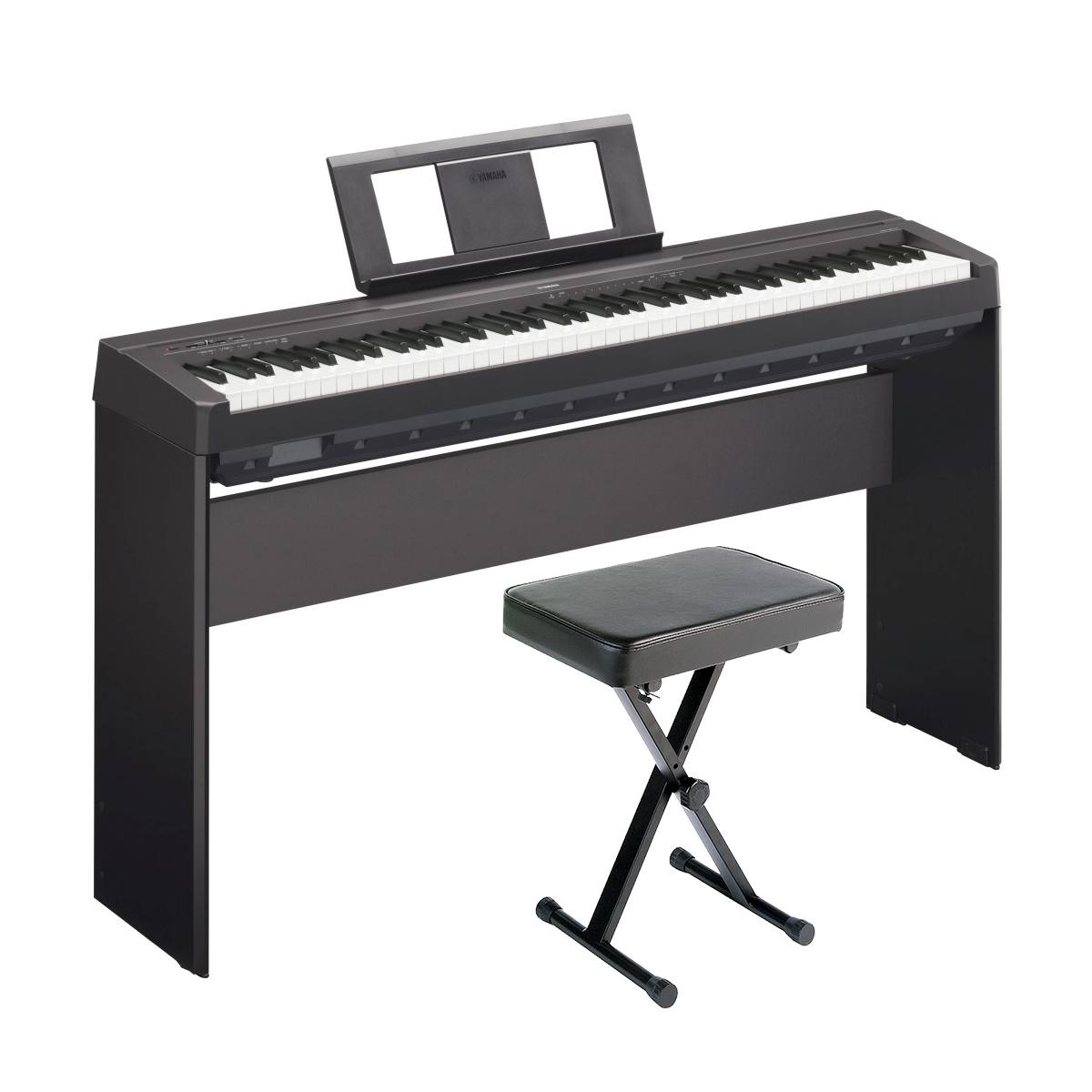 Yamaha p 45 holiday home bundle in black ebay for Yamaha l85 stand