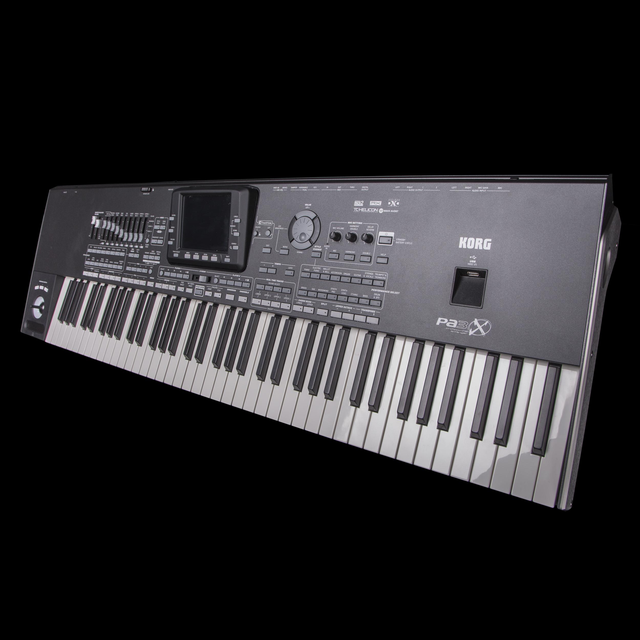 Professional Keyboard Workstation : korg pa3x76 76 key professional arranger workstation ~ Hamham.info Haus und Dekorationen