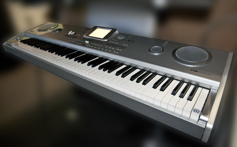 korg pa588 88 note key arranger workstation keyboard with weighted keys ebay. Black Bedroom Furniture Sets. Home Design Ideas