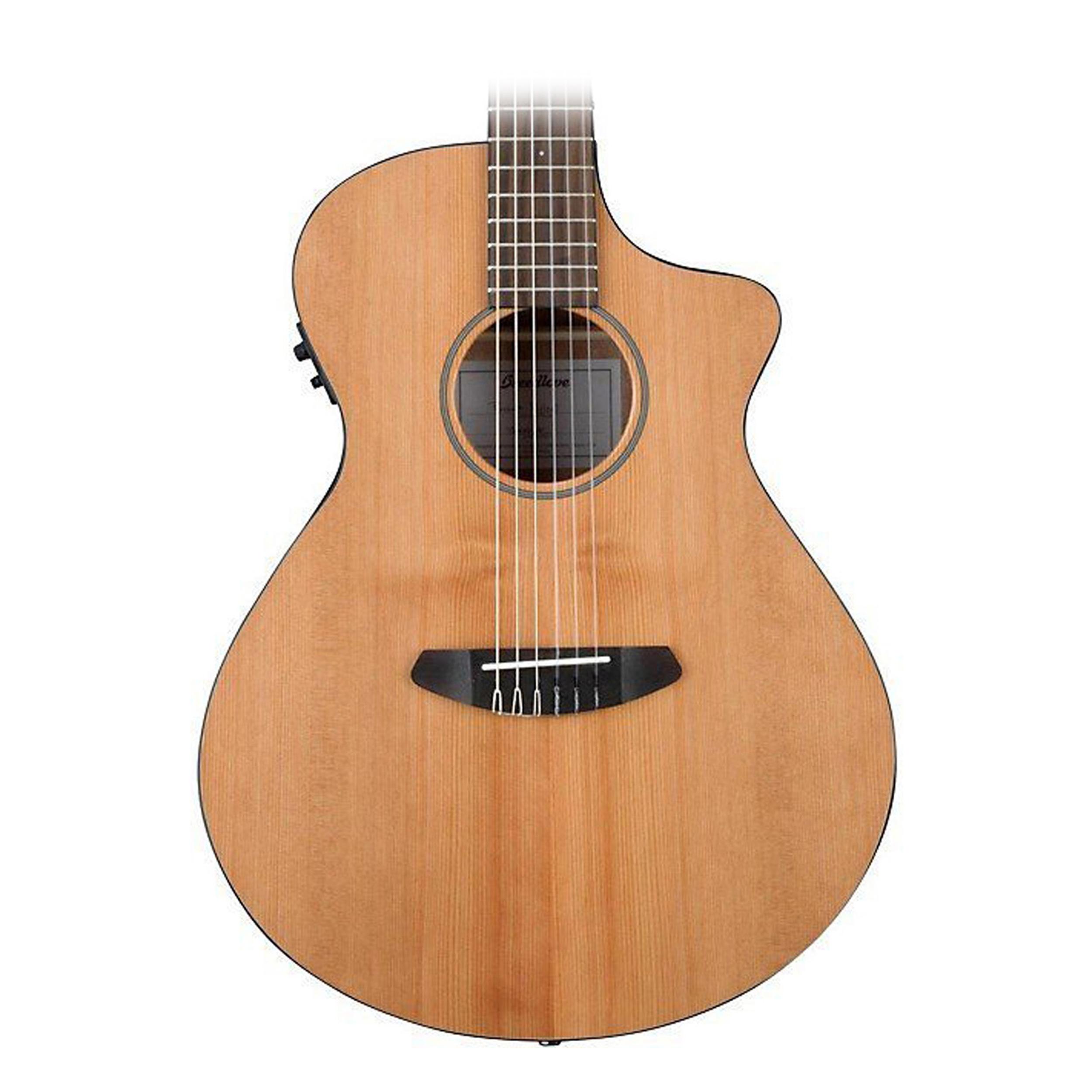 breedlove pursuit nylon pursuit nylon acoustic electric guitar natural. Black Bedroom Furniture Sets. Home Design Ideas