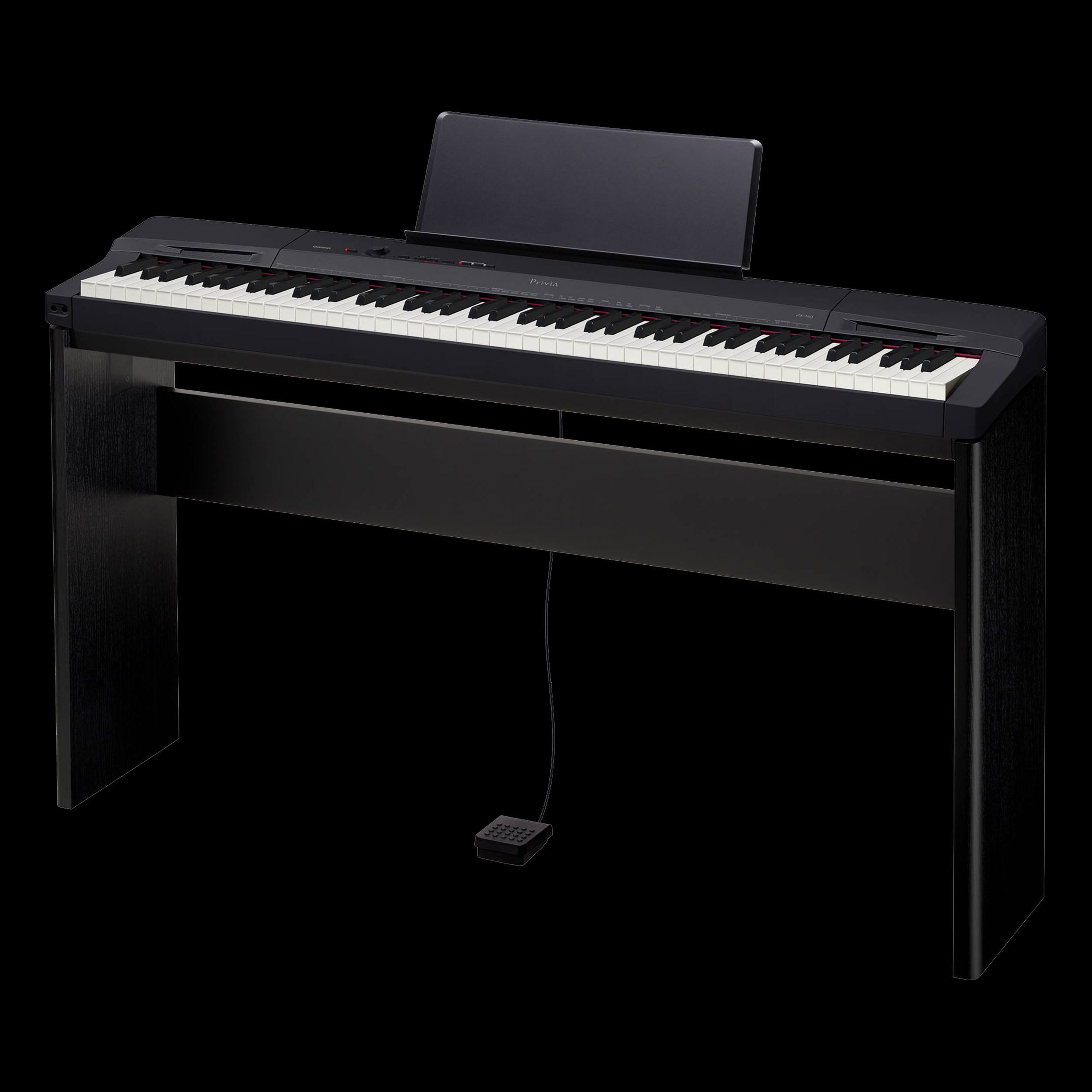 Piano Digital Casio Privia Px 160 : casio px 160 privia 88 key digital piano matching cs 67 keyboard stand black ebay ~ Hamham.info Haus und Dekorationen