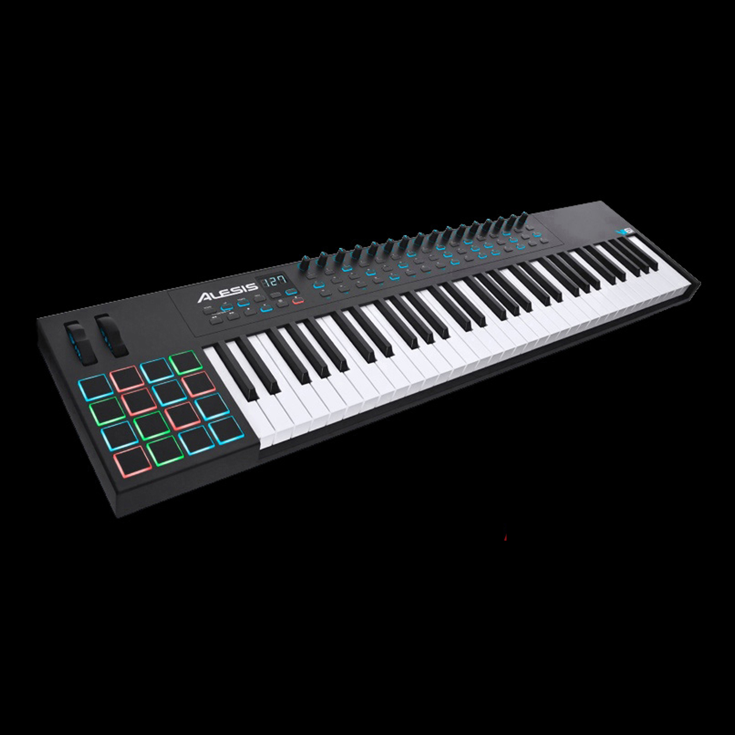 alesis vi61 advanced usb midi pad keyboard controller ebay. Black Bedroom Furniture Sets. Home Design Ideas