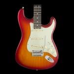 Fender American Elite Stratocaster- Aged Cherry Burst ( Ash ), Rosewood