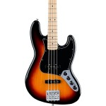 Fender Deluxe Active 3-Tone Sunburst Jazz Bass