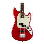Fender Mustang Pj Bass, Rosewood Fingerboard Torino Red