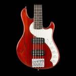 Fender American Elite Dimension™ Bass V HH Rosewood Fingerboard Cayenne Burst