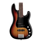 Fender American Deluxe Precision Bass 3 Tone Sunburst Rosewood with Case