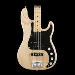 Fender American Elite Maple Fingerboard Precision Bass Natural