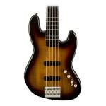 Fender Squier Deluxe Active Jazz V Bass in 3 Tone Sunburst