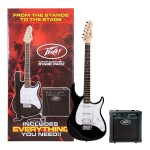 Peavey Raptor Plus Stage Back Guitar Starter Pack in Black