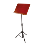 On Stage Conductor Stand with Rosewood Bookplate