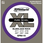 D'Addario EPN115 Blues/Jazz Rock 11-48