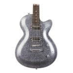 Daisy Rock Rock Candy Classic Electric Guitar, Platinum Sparkle