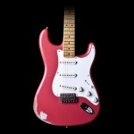 Fender Custom Shop 2014 1956 Heavy Relic Stratocaster in Fiesta Red