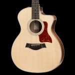 Taylor 254ce Deluxe Grand Auditorium 12-String Acoustic Guitar, Natural w/ Case
