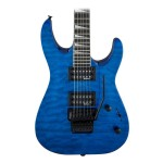 Jackson JS Series Dinky Arch Top JS32Q DKA Electric Guitar (Transparent Blue)