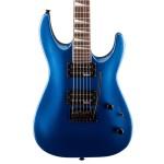 Jackson JS Series JS22 Arched Body Dinky Metallic Blue Electric Guitar
