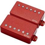 EMG 57/66 Active Electric Guitar Humbucker Pickup Set Red