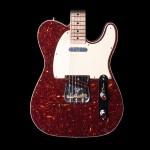 Fender Tele Custom NOS Masterbuilt Tortoise Shell, Birdseye Maple w/ Case
