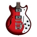 Ibanez AMF73TSRD Artcore Hollowbody Guitar High Gloss Sunset Red