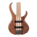 Ibanez BTB675M 5-String Electric Bass in Natural Flat Finish
