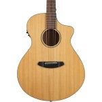 Breedlove Discovery Concert CE Cutaway Acoustic-Electric Guitar Natural