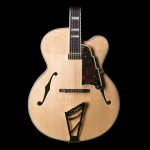 """D'Angelico EXL-1 Archtop Natural 17"""" Body w/ Case"""