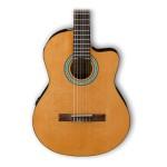 Ibanez GA3ECE Cutaway Acoustic-Electric Nylon String Guitar Natural
