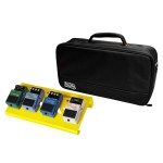 Gator GPB-LAK-YE Overdrive Yellow Aluminum Pedal Board Small Format with Bag