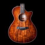 Taylor K22CE AA Koa Grand Concert Acoustic-Electric Guitar w/ Case