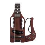 Traveler Guitar Pro-Series Hybrid Acoustic/Electric Guitar w/ Bag, Antique Brown