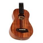 """Kala UBass 20"""" Fretted Ukulele Bass Solid Acacia with EQ and Case"""