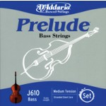 "D'Addario J610 Prelude Bass 1/4"" Scale String Set"