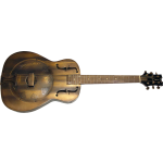 Dean Heirloom Resonator Distressed Brass Guitar