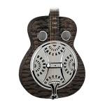 Dean RESQMTBK Resonator Spider Quilted Maple Transparent Black Guitar