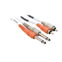 Hosa CPR201 Dual Cable 1/4