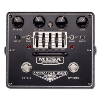 Mesa Boogie Throttle Box EQ Dual Mode Distortion Pedal