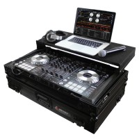 Odyssey FZGSPIDDJSRBL Black Label Pioneer Controller GLIDE-Style Case